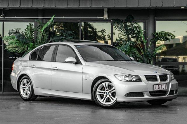 Used BMW 3 Series E90 MY08 320i Steptronic Bowen Hills, 2008 BMW 3 Series E90 MY08 320i Steptronic Silver 6 Speed Sports Automatic Sedan