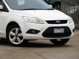 2010 Ford Focus LV LX Alaska White 4 Speed Sports Automatic Hatchback.