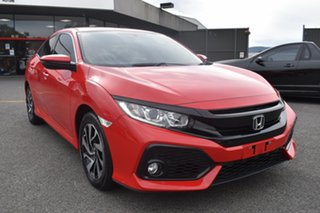 2018 Honda Civic 10th Gen MY18 VTi-S Ralley Red 1 Speed Constant Variable Hatchback.