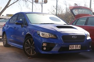 2014 Subaru WRX V1 MY15 Premium AWD Blue 6 Speed Manual Sedan.