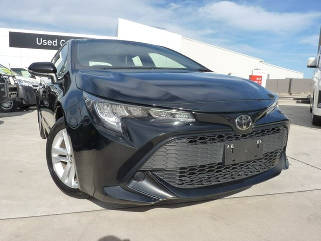 Pre-Owned Toyota Corolla Mzea12R Ascent Sport Blacktown, 2018 Toyota Corolla Mzea12R Ascent Sport Eclipse Black 10 Speed Constant Variable Hatchback