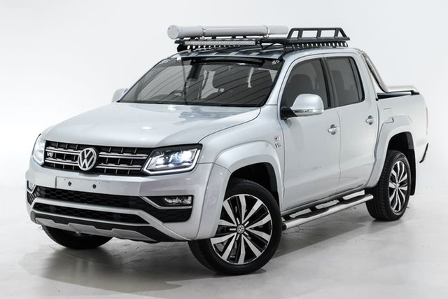 Used Volkswagen Amarok 2H MY18 TDI580 4MOTION Perm Ultimate Berwick, 2018 Volkswagen Amarok 2H MY18 TDI580 4MOTION Perm Ultimate Silver 8 Speed Automatic Utility