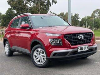 2021 Hyundai Venue QX.V3 MY21 Fiery Red 6 Speed Automatic Wagon.