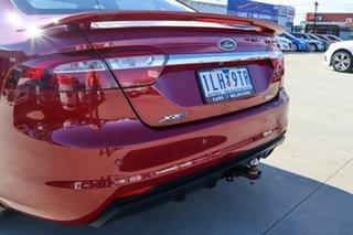 2014 Ford Falcon FG X XR6 Red 6 Speed Sports Automatic Sedan.