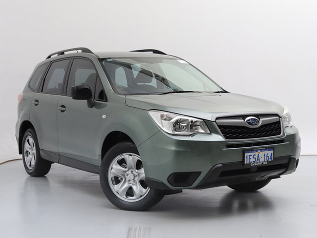 Used Subaru Forester MY14 2.5I, 2014 Subaru Forester MY14 2.5I Green Continuous Variable Wagon