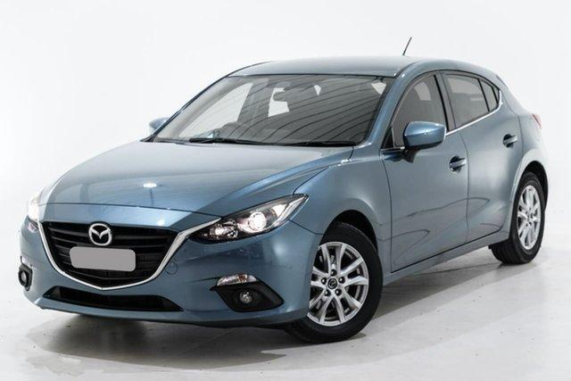 Used Mazda 3 BM5478 Maxx SKYACTIV-Drive Berwick, 2015 Mazda 3 BM5478 Maxx SKYACTIV-Drive Blue 6 Speed Sports Automatic Hatchback