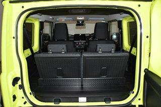 2021 Suzuki Jimny JB74 GLX Bright Green 5 Speed Manual Hardtop