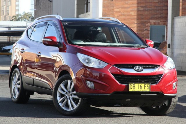 Used Hyundai ix35 LM MY11 Highlander (AWD) Rosebery, 2011 Hyundai ix35 LM MY11 Highlander (AWD) Red 6 Speed Automatic Wagon
