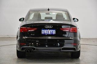 2017 Audi A3 8V MY17 S Line S Tronic Quattro Mythos Black 7 Speed Sports Automatic Dual Clutch Sedan