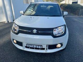 2016 Suzuki Ignis MF GL White 1 Speed Constant Variable Hatchback.