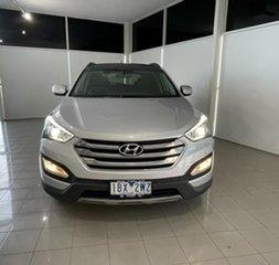 2014 Hyundai Santa Fe DM2 MY15 Highlander Silver, Chrome 6 Speed Sports Automatic Wagon.