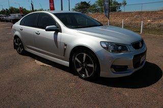 2017 Holden Commodore VF II MY17 SV6 Silver 6 Speed Automatic Sedan.