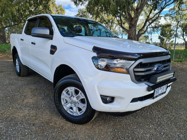 Used Ford Ranger PX MkIII 2019.00MY XLS Epsom, 2019 Ford Ranger PX MkIII 2019.00MY XLS White 6 Speed Sports Automatic Double Cab Pick Up