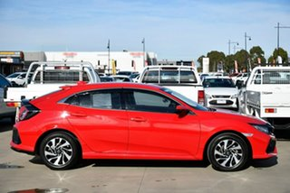 2018 Honda Civic 10th Gen MY18 VTi-S Red 1 Speed Constant Variable Hatchback