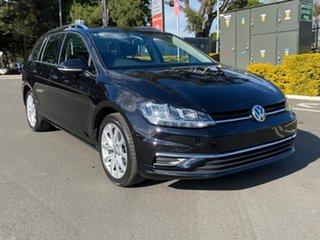 2018 Volkswagen Golf 7.5 MY19 110TSI DSG Comfortline Black 7 Speed Sports Automatic Dual Clutch.