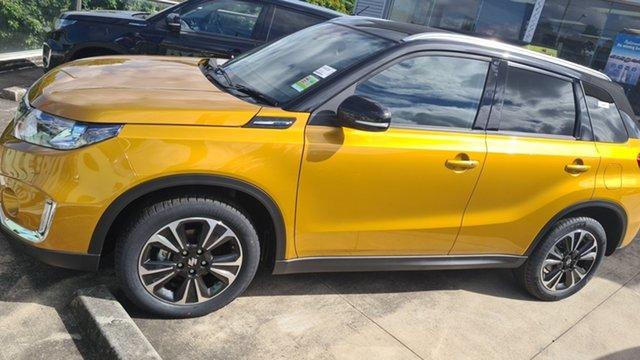New Suzuki Vitara Moorooka, 2021 Suzuki Vitara VITARA1 VITARA S-TURBO GLX+ AUTO 2WD Solar Yellow Wagon