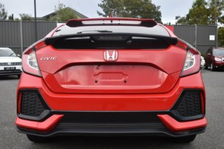 2018 Honda Civic 10th Gen MY18 VTi-S Ralley Red 1 Speed Constant Variable Hatchback