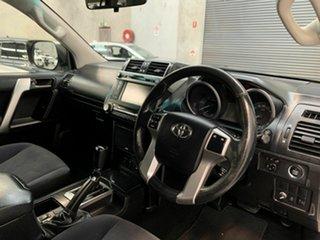 2013 Toyota Landcruiser Prado KDJ150R MY14 GXL White 5 Speed Sports Automatic Wagon