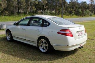 2009 Nissan Maxima J32 350 X-tronic Ti White 6 Speed Constant Variable Sedan