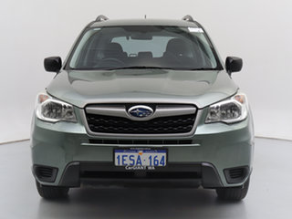 2014 Subaru Forester MY14 2.5I Green Continuous Variable Wagon.
