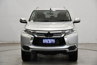 2019 Mitsubishi Pajero Sport QE MY19 GLX Sterling Silver 8 Speed Sports Automatic Wagon.