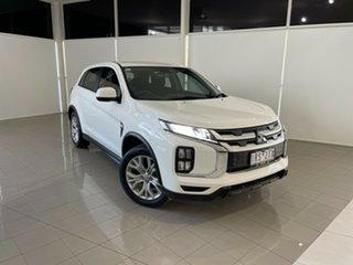 2020 Mitsubishi ASX XD MY20 ES 2WD White 1 Speed Constant Variable Wagon.