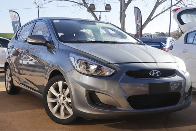 Used Hyundai Accent RB6 MY18 Sport Toowoomba, 2018 Hyundai Accent RB6 MY18 Sport Silver 6 Speed Sports Automatic Hatchback