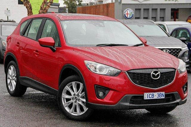Used Mazda CX-5 KE1022 Akera SKYACTIV-Drive AWD Nunawading, 2014 Mazda CX-5 KE1022 Akera SKYACTIV-Drive AWD Red 6 Speed Sports Automatic Wagon