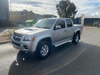 2008 Holden Colorado RC LT-R Crew Cab Silver 4 Speed Automatic Utility.