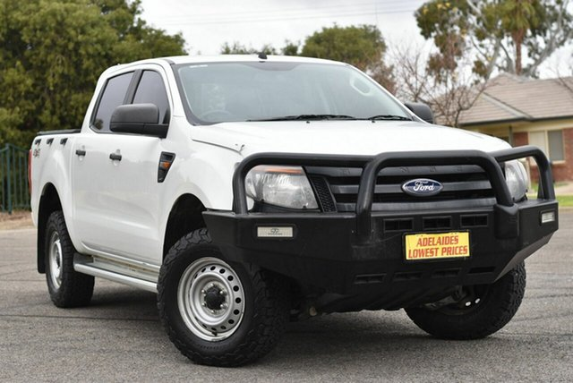 Used Ford Ranger PX XL Enfield, 2015 Ford Ranger PX XL White 6 Speed Manual Utility