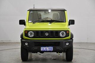 2021 Suzuki Jimny JB74 GLX Bright Green 5 Speed Manual Hardtop.