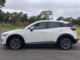 2019 Mazda CX-3 DK4W7A sTouring SKYACTIV-Drive i-ACTIV AWD White 6 Speed Sports Automatic Wagon.
