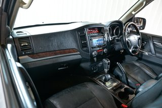 2013 Mitsubishi Pajero NW MY13 Exceed Silver 5 Speed Sports Automatic Wagon