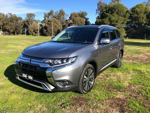 Used Mitsubishi Outlander ZL MY19 Exceed AWD Epsom, 2018 Mitsubishi Outlander ZL MY19 Exceed AWD Grey 6 Speed Sports Automatic Wagon