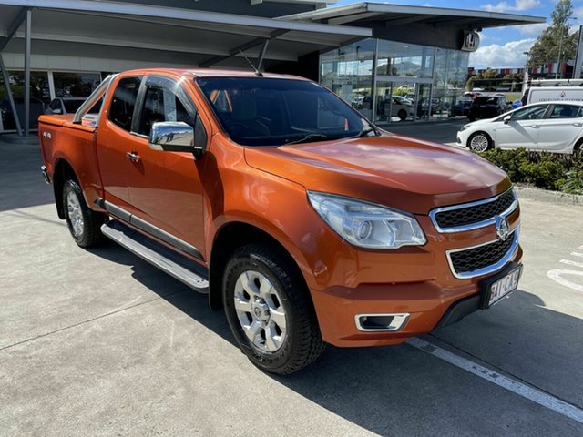 Used Holden Colorado RG MY15 LTZ Space Cab Yamanto, 2015 Holden Colorado RG MY15 LTZ Space Cab Orange 6 Speed Sports Automatic Utility