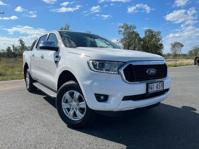 Used Ford Ranger PX MkIII 2021.25MY XLT Hi-Rider Emerald, 2020 Ford Ranger PX MkIII 2021.25MY XLT Hi-Rider Arctic White 6 Speed Sports Automatic