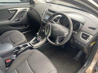 2015 Hyundai Elantra MD3 Active Satin Amber 6 Speed Sports Automatic Sedan