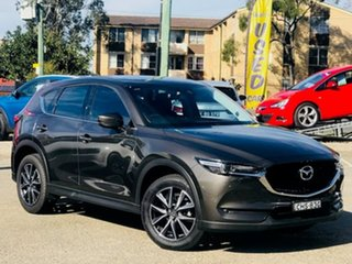 2017 Mazda CX-5 KF4WLA GT SKYACTIV-Drive i-ACTIV AWD Bronze 6 Speed Sports Automatic Wagon.