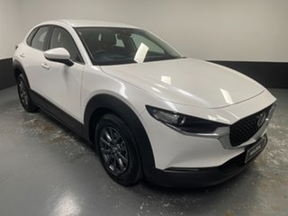 2020 Mazda CX-30 DM2W7A G20 SKYACTIV-Drive Pure White 6 Speed Sports Automatic Wagon.