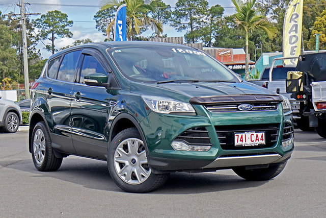 Used Ford Kuga TF MY15 Ambiente AWD Chandler, 2015 Ford Kuga TF MY15 Ambiente AWD Green 6 Speed Sports Automatic Wagon