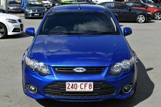 2012 Ford Falcon FG MK2 XR6T Blue 6 Speed Auto Seq Sportshift Utility.