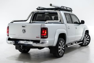 2018 Volkswagen Amarok 2H MY18 TDI580 4MOTION Perm Ultimate Silver 8 Speed Automatic Utility.