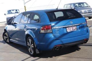 2014 Holden Commodore VF MY14 SV6 Sportwagon Blue 6 Speed Sports Automatic Wagon.