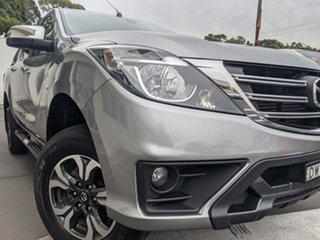 2018 Mazda BT-50 UR0YG1 XTR 4x2 Hi-Rider Silver 6 Speed Manual Utility.