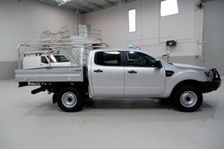 2017 Ford Ranger PX MkII XL Silver 6 Speed Sports Automatic Cab Chassis