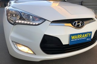 2011 Hyundai Veloster FS Coupe D-CT White 6 Speed Sports Automatic Dual Clutch Hatchback