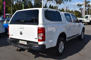 2016 Holden Colorado RG MY16 LS-X Crew Cab White 6 Speed Sports Automatic Utility.