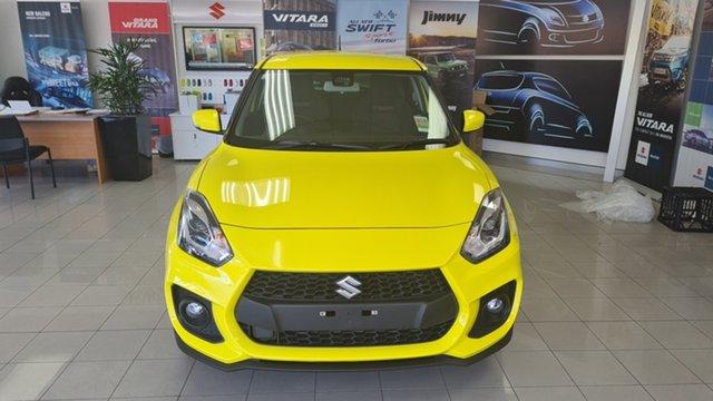 New Suzuki Swift Moorooka, 2021 Suzuki Swift SWIFT6 SWIFT SPORT AUTO Champion Yellow Hatchback