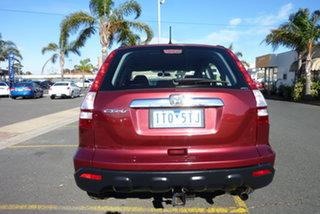 2007 Honda CR-V RE MY2007 4WD Burgundy 6 Speed Manual Wagon