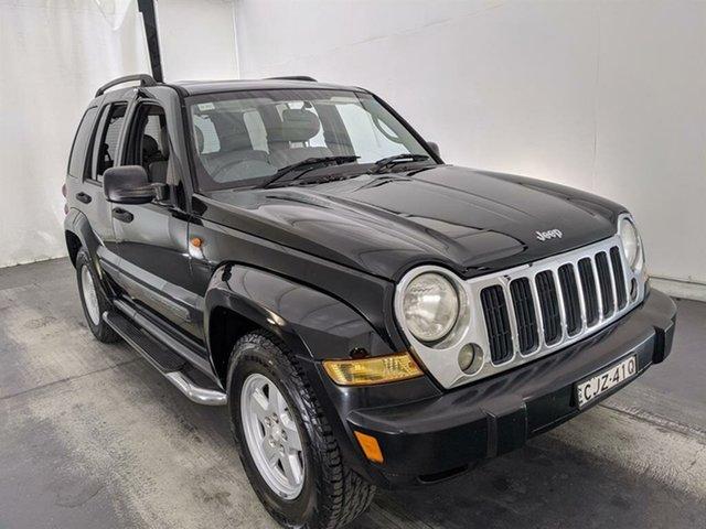 Used Jeep Cherokee KJ MY2006 Sport Maryville, 2007 Jeep Cherokee KJ MY2006 Sport Black 4 Speed Automatic Wagon